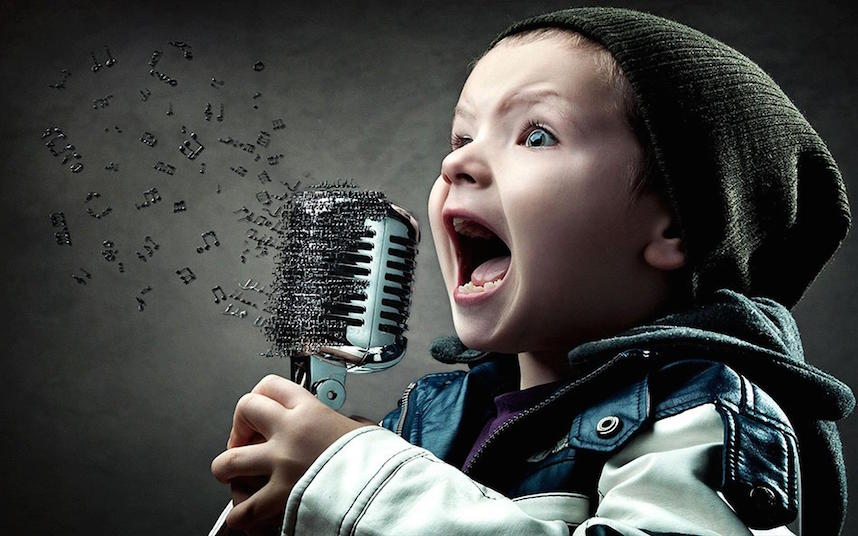 wallpaper-child-singer-notes-music-digital-art